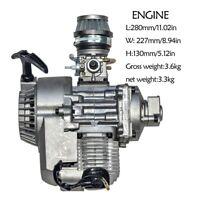 49cc 2 Stroke Engine Motor Carb Air Filter Pocket Mini Dirt Bike ATV Quad Moto