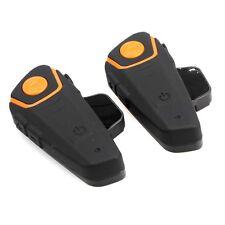 2 Sets BT Headset Mikrofon für BTS2 Motorrad Helm Intercom 1KM Radio Handheld