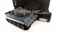 2.4ghz German Tiger 1 Radio Control RC Military Army World War Tank Smoke Sound