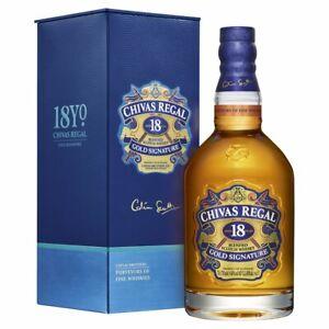 Chivas Regal 18 YO Blended Scotch Whisky Gold Signature 40 % Vol./0,7 L