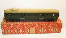 Märklin H0 4012 (346/4) Gepäckwagen grün im alten Originalkarton