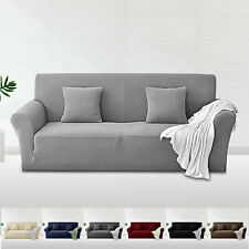 1-4 Seater Stretch Sofa Slip Cover Furniture Protector Elastic Couch Chair Cover