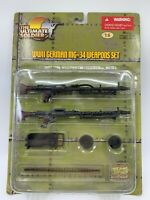 Ultimate Soldier German MG-34  WW 2 Machine Gun Set 1:6 scale  21st Century 2007