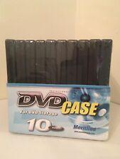 Case of 10 DVD Cases