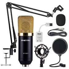 ZINGYOU Condenser Microphone Bundle, ZY-007 Professional Cardioid Studio Mic Arm