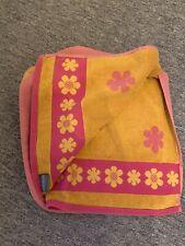 Pink Yellow Beach Towel