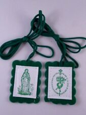 Green Scapular ~ Pack of Two