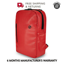 Skunk Elite Smell Proof Weather Proof Back Pack - w / Combo Lock Red Leather