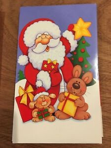 Self - Sealing Money- Voucher Wallets Christmas gift