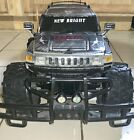 New Bright 1/12  Scale Hummer H3 Bad Street Black Brushed Silver Barbed Wire