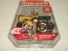 Bungees Flick To Stick Series 1 Starter Pack Electron 6/96, Kontos 8/96 NEW