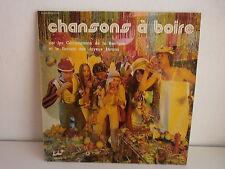 Chansons a boire COMPAGNONS DE LA BARRIQUE / JOYEUX LURONS 282