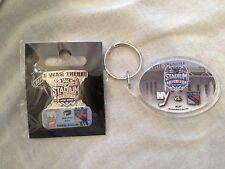 Key Chain & Pin #2 NY Rangers v Islanders NHL Hockey Jan 29 2014 Stadium Series