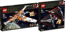 LEGO Star Wars 75273 X-Wing Starfighter 75272 Sith TIE Fighter N1/20