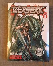 Berserk Volume 3. Brand New Sealed Manga Fantasy. Kentaro Miura. Dark Horse.