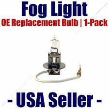 Fog Light Bulb 1pk H3 55 Watt OE Fits Listed Volkswagen Vehicles 01007