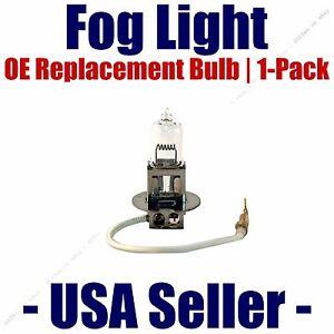Fog Light Bulb 1pk H3 55 Watt OE - Fits Listed Mercedes-Benz Vehicles - 01007