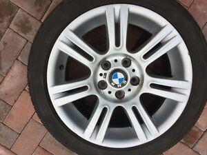 "BMW 3 SERIES 17"" STYLE 194M FRONT ALLOY WHEEL 8J E91 E92 E93 7836335 8036935 #2"