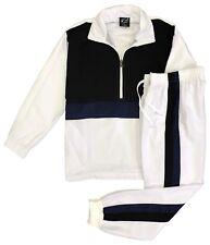 Men Spring Windbreaker Activewear LightWeight TrackJacket Trackpants Jogger set