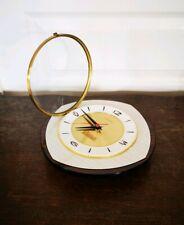 Ancien Vintage Horloge Pendule JUNGHANS En Formica Made In Germany Fonctionnelle