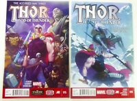 Marvel THOR: GOD OF THUNDER (2014) #15-16 HTF Jason AARON Lot NM Ships FREE!