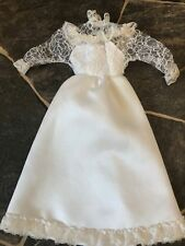 Vintage Barbie Doll Tracy Bride Wedding Gown #4103 Gorgeous Condition! 1980's