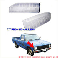 FOR Toyota Pickup Hilux RN30 Pair Front Side Corner Turn Signal Light Lens