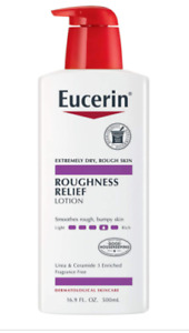 EUCERIN ROUGHNESS RELIEF LOTION 16.9 OZ BOTTLE BRAND NEW SEALED