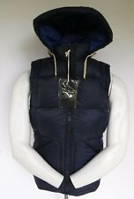 NEW  ABERCROMBIE & FITCH Down Filled Puffer - men's vest size S Small