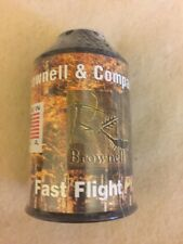Brownell Fast Flight Plus Bow String Material  1/4 Pound Black