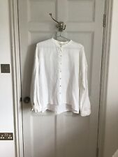 eileen fisher S Linen White Linen Top