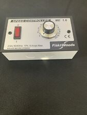 NEW Flakt Woods ME1.6 speed controller Including Back Box