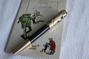 """MONTBLANC Writers Edition Carlo Collodi """"M"""" Nib Fountain Pen 106640 NEW IN BOX"""