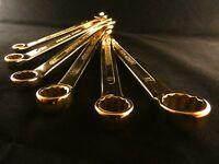 24 Karat Vergoldet Maulschlüssel Werkzeug Ringschlüssel Deluxe Gabelschlüssel