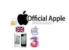 UNLOCKING CODE SERVICE FOR THREE 3 HUTCHISON UK IPHONE 6S 6S PLUS 5S 5C 7 7PLUS