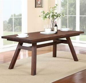 Modus Furniture 7Z4861R Portland Solid Wood Rectangular  Table, FREE SHIPPING