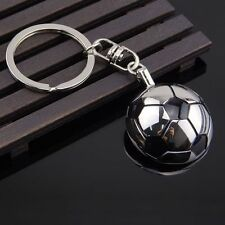 Sports  Chain Gift Gifts Souvenir Keyring Soccer Metal Keychain Half Ball