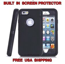 HYBRID CASE & HOLSTER for IPHONE 6 6S (HOLSTER FITS OTTERBOX DEFENDER ) USA SHIP