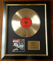 Bob Dylan / Ltd Edition CD Gold Disc / Record / Love and Theft