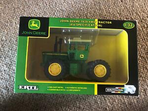 Britains Ertl John Deere 7020 4WD Tractor 1:32 Scale