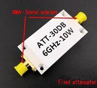 10W 30DB Fixed Attenuator Used with Power Meter Spectrum Analyzer