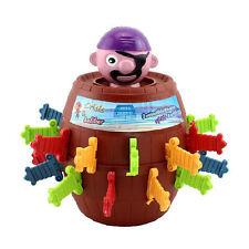 Novelty Kids Child Funny Gadget Jokes Tricky Pirate Barrel Game Desktop Toys New