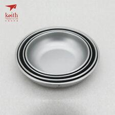 Keith Titanium Ti5373 4-Piece Plate Set (Shipped from California, USA)