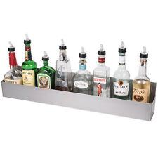 32 Stainless Steel Single Tier Commercial Bar Speed Rail Liquor Display Rack