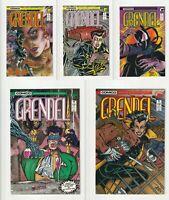 Grendel Lot 1, 2, 3, 10, 11 (1986) Comico