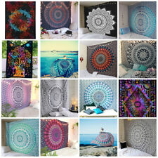 Wholesale Lot 50 Pcs Indian Mandala Tapestry Wall Hanging Decor Single Bedspread