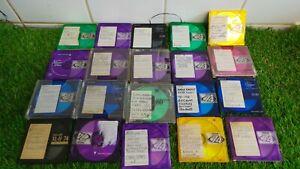 20 used Blank Minidiscs