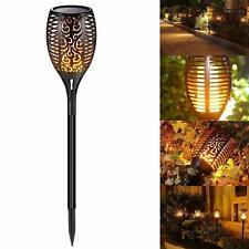 96 LED Solar Garden Torch Lights Dancing Flames Waterproof Landscape Torch Lamp