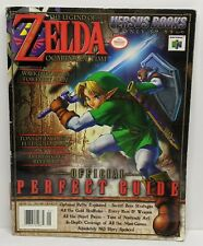 Legend of Zelda Ocarina of Time Versus Books Strategy Perfect Guide N64 Strategy