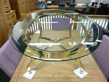 Less than 60cm High Glass Art Deco Style Coffee Tables